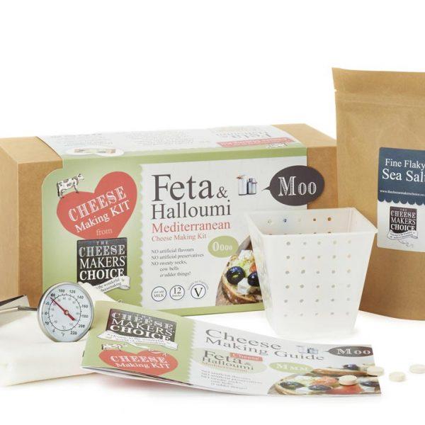 Feta & Halloumi Mediterranean cheese making kit